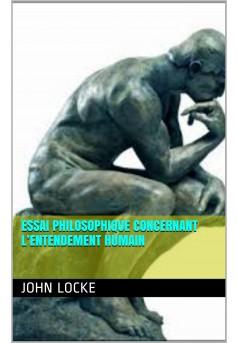 Essai philosophique concernant l'entendement humain - Couverture Ebook auto édité