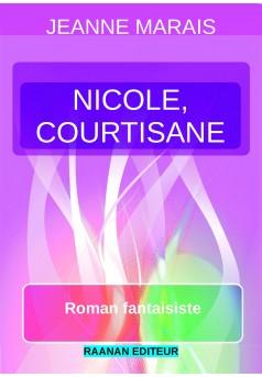 Nicole, courtisane - Couverture Ebook auto édité