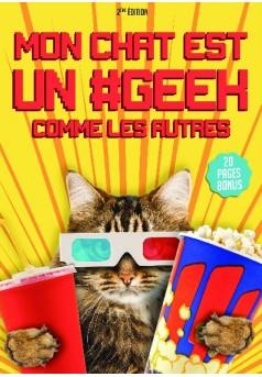 Mon chat est un #geek comme les autres - Couverture de livre auto édité