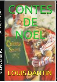 conte de noel - Couverture de livre auto édité