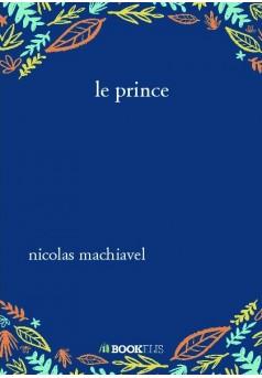 le prince - Couverture de livre auto édité