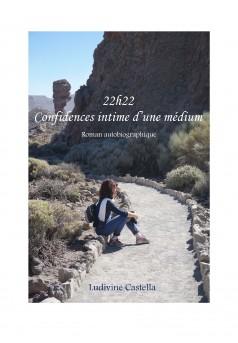 22h22 - Confidences intimes d'une médium - Couverture Ebook auto édité