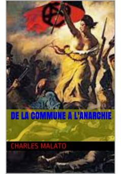 De la Commune à l'anarchie - Couverture de livre auto édité
