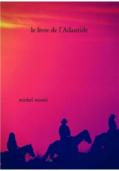 le livre de l'Atlantide - Couverture de livre auto édité