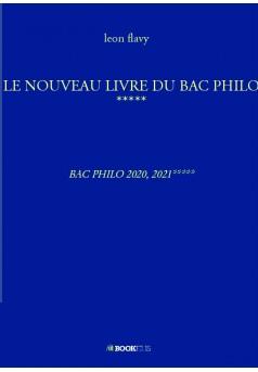 LE NOUVEAU LIVRE DU BAC PHILO ***** - Couverture de livre auto édité