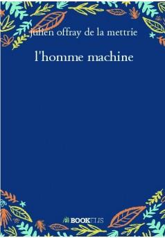 l'homme machine - Couverture de livre auto édité