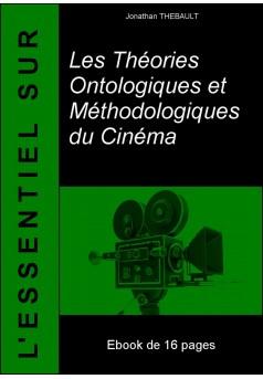 Les Théories Ontologiques et Méthodologiques du Cinéma - Couverture Ebook auto édité