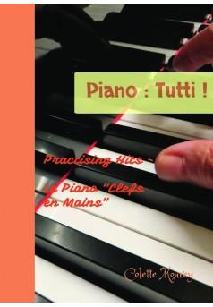 Piano : Tutti ! - Couverture de livre auto édité