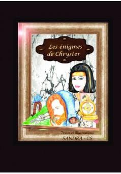Les énigmes de Chryster - Couverture de livre auto édité