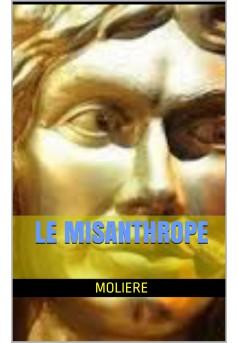 le misanthrope - Couverture de livre auto édité