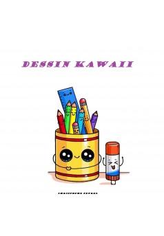 DESSIN KAWAII - Couverture Ebook auto édité