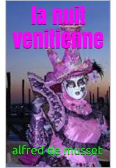 le nuit vénitienne - Couverture de livre auto édité