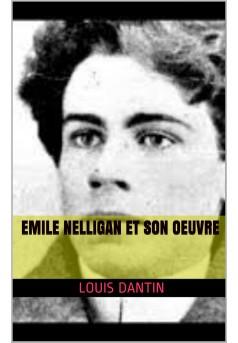 émile nelligan et son oeuvre - Couverture de livre auto édité