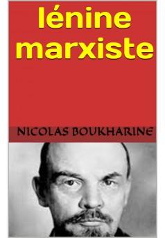 lénine  marxiste - Couverture de livre auto édité