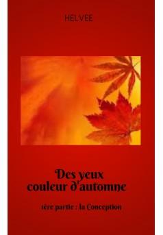 DES YEUX COULEUR D'AUTOMNE - Couverture Ebook auto édité