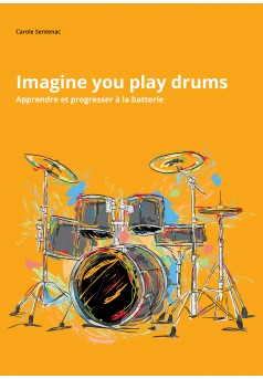 Imagine you play drums - Couverture Ebook auto édité