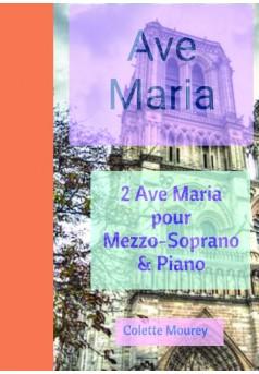 Ave Maria - Couverture de livre auto édité