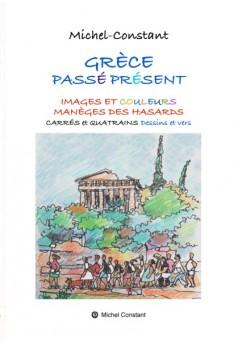 GRÈCE PASSÉ PRÉSENT - Couverture de livre auto édité