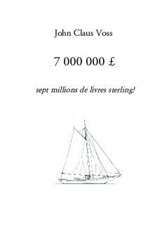 7 000 000 £ - Couverture de livre auto édité