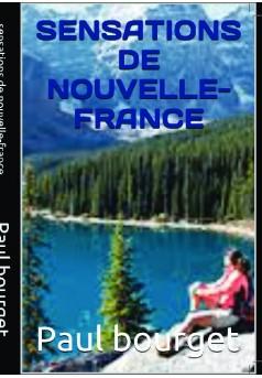 sensations de nouvelle- France - Couverture de livre auto édité