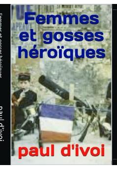 femmes et gosses héroïques - Couverture de livre auto édité
