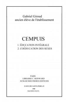 CEMPUIS - Couverture Ebook auto édité