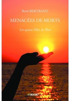 MENACÉES DE MORTS  - Couverture de livre auto édité