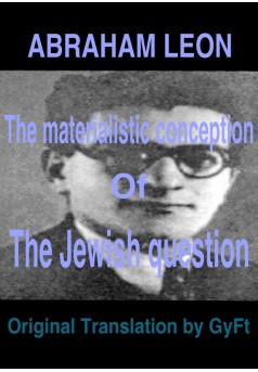 The materialistic conception of the Jewish question - Couverture Ebook auto édité