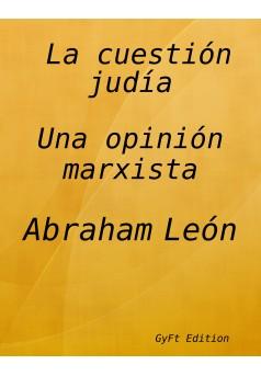 La cuestión judía. - Couverture Ebook auto édité
