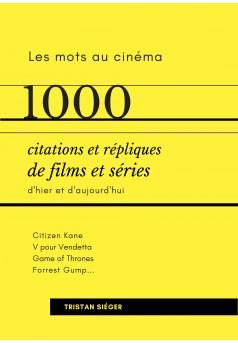 1000 citations et répliques de films et séries - Couverture Ebook auto édité