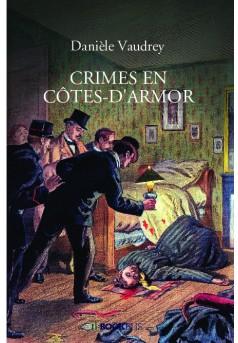CRIMES EN CÔTES-D'ARMOR - Couverture de livre auto édité