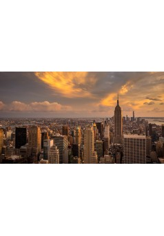 2052 Des drones à Manhattan - Couverture Ebook auto édité