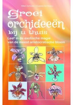Groei orchideeën bij u thuis - Couverture Ebook auto édité