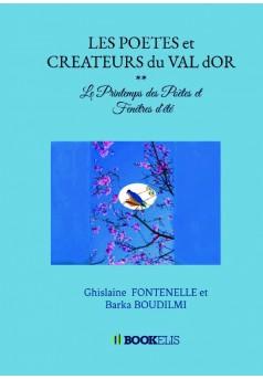 POETES et CREATEURS du VAL d'Or -Livre II - Couverture de livre auto édité