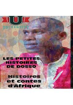 LES PETITES HISTOIRES DE DOSSO - Couverture Ebook auto édité