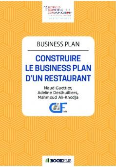 Business Plan - Couverture de livre auto édité