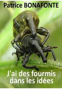 J'ai des fourmis dans les idées - Couverture de livre auto édité