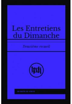 Les Entretiens du Dimanche - Couverture de livre auto édité