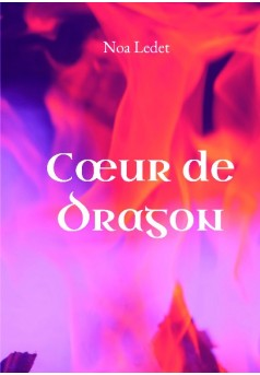 Cœur de dragon - Couverture de livre auto édité