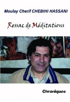 Ressac de Méditations - Couverture de livre auto édité