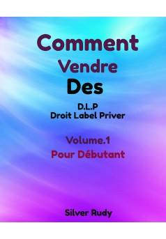 Comment vendre de Livre avec Droit Label Priver Volume 1 : Pour débutant - Couverture Ebook auto édité