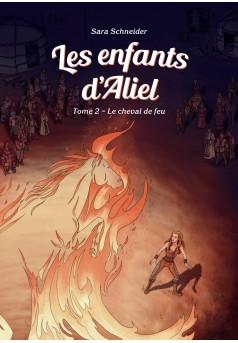 Les enfants d'Aliel, Tome 2 - Couverture Ebook auto édité