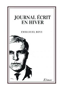 Journal écrit en hiver - Couverture de livre auto édité
