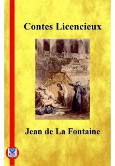 Contes licencieux - Couverture Ebook auto édité