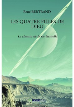 LES QUATRE FILLES DE DIEU - Couverture de livre auto édité