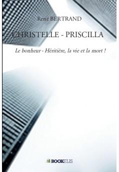 CHRISTELLE - PRISCILLA - Couverture de livre auto édité