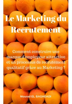 Le Marketing du Recrutement - Couverture Ebook auto édité