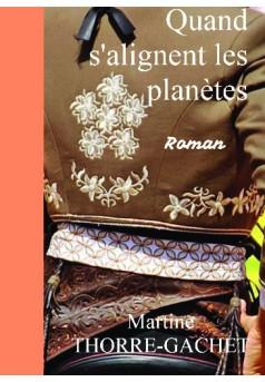 Quand s'alignent les planètes - Couverture de livre auto édité