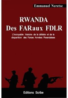 Rwanda Des FAR aux FDLR.  - Couverture Ebook auto édité