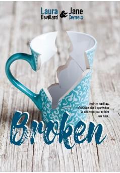 Broken - Couverture de livre auto édité